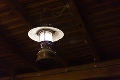 La ejecución ligera de la electricidad de la lámpara adorna el diseño interior casero Fotografía de archivo
