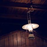 La ejecución ligera de la electricidad de la lámpara adorna el diseño interior casero Fotos de archivo