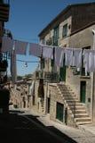 La ejecución viste en la calle en el sur de Italia imágenes de archivo libres de regalías
