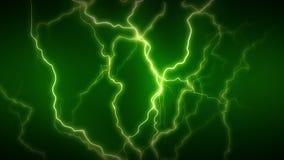 La electricidad se pone verde por completo almacen de video