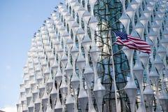 La embajada de los Estados Unidos de América en Londres Fotos de archivo libres de regalías