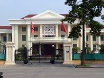 La embajada rusa, Hanoi foto de archivo
