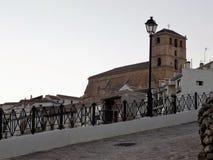 La Encarnacion Church Alhama de Granada. La Encarnacion church Royalty Free Stock Image