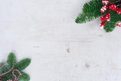 La endecha del plano de la Navidad diseñó escena Foto de archivo libre de regalías