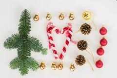 La endecha del plano de la Navidad diseñó escena Imagenes de archivo