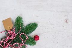 La endecha del plano de la Navidad diseñó escena Fotos de archivo