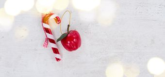 La endecha del plano de la Navidad diseñó escena Imagen de archivo libre de regalías