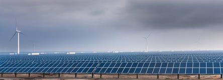La energía solar Imagen de archivo libre de regalías