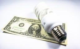 La energía salva el bulbo Imagenes de archivo