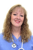 La enfermera adentro friega Fotos de archivo libres de regalías