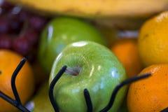 La ensalada de la comida intercala la cena de la comida del postre Imagen de archivo libre de regalías