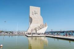 La ensalada de la gamba con la piña sirvió en Lisboa, Portugal Imagen de archivo libre de regalías