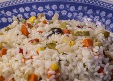 La ensalada del arroz Imagen de archivo libre de regalías