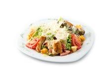 La ensalada deliciosa cezar Fotos de archivo