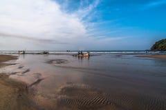 La ensenada de los pescadores foto de archivo libre de regalías