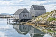 La ensenada de Peggy, Nova Scotia Imagen de archivo libre de regalías