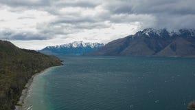 La ensenada del ½ s del ¿de Bobï, Queenstown, isla del sur, Nueva Zelanda metrajes