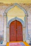 La entrada a Aladdin Mosque Imagen de archivo
