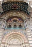 La entrada de la catedral Marsella, Francia Imagen de archivo libre de regalías