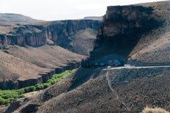 La entrada de las cuevas Imagenes de archivo