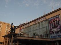 La entrada del casino Kursaal, uno de los casinos más grandes de Europa fotos de archivo libres de regalías