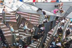 La entrada duplicada a la alameda del envío de la plaza de Tokyu, Tokio imagen de archivo libre de regalías