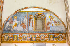 La entrada en Jesusalen y el eucharist foto de archivo