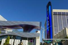 La entrada en Las Vegas, nanovoltio de Linq el 4 de enero de 2014 Fotos de archivo