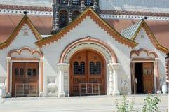 La entrada a la galería de Tretyakov del estado Foto de archivo