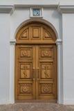 La entrada a la iglesia Imagen de archivo