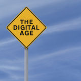 La era digital Foto de archivo libre de regalías