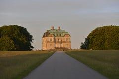 La ermita, casa de cazadores Dinamarca imagen de archivo libre de regalías