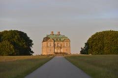 La ermita, casa de cazadores Dinamarca foto de archivo
