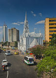 La Ermita church, Downtown Cali - Colombia Stock Image