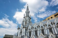 La Ermita Church and Sky Royalty Free Stock Image