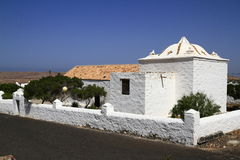 La ermita de San Agustín, Fuerteventura, Spain Royalty Free Stock Photography