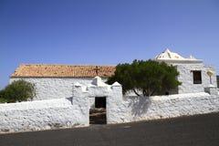 La ermita de San Agustín, Fuerteventura, Spain Royalty Free Stock Images
