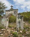 La ermita en el montaje Alvernia Imagen de archivo libre de regalías