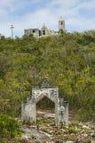 La ermita en el montaje Alvernia Imágenes de archivo libres de regalías