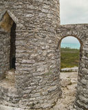 La ermita en el montaje Alvernia Foto de archivo