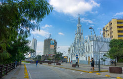La Ermita-Kirche in Cali, Kolumbien Lizenzfreies Stockfoto