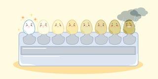 La escala del diente hace diverso emoji Imagenes de archivo