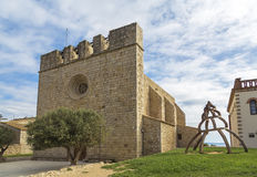 La escala sant marti of empuries Stock Images