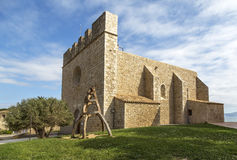 La escala sant marti of empuries Stock Photography