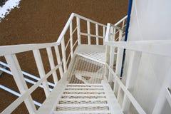 La escalera espiral. Fotos de archivo libres de regalías