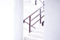 La escalera a la plataforma de observación Fotografía de archivo libre de regalías