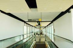 La escalera móvil es una escalera móvil en Bangkok Fotos de archivo libres de regalías
