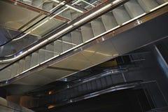 La escalera móvil vacía Foto de archivo libre de regalías