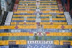 La escalera Selaron Imagenes de archivo