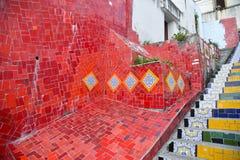 La escalera Selaron Fotografía de archivo libre de regalías